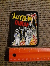 Vintage Duran Duran Rock Band Sewn on Screen Printed Cloth Patch NEW - $26.46