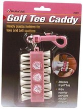 Jef World of Golf Gifts and Gallery, Inc. Pink Tee Caddy by JEF WORLD OF... - $6.55