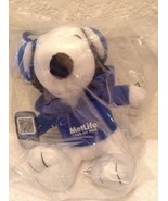 "2013 Peanuts Metlife 6"" Plush Snoopy Doll w/ Phone& Head Phones Free Sh... - $9.97"