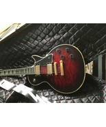 "Vintage RWG Raven West Electric 39"" Guitar with Coffin Case and Lightnin... - $612.75"