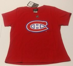 Montreal Canadiens Girl's T Shirt Size 16 New With Tags 100% Cotton - $7.38