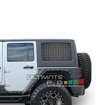 Sticker Bomb See Thru Stickers Perforated for Jeep Wrangler 4 doors side window - $59.80