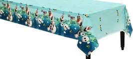 """Disney Olaf Plastic Tablecover Tablecloth 54"""" x 96"""" Party Frozen BNIP - $5.89"""
