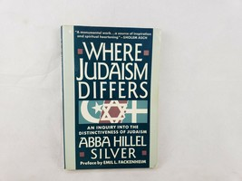 Where Judaism Differs: An Inquiry into the Distinctiveness of Judaism - $5.81