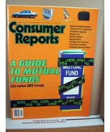 Consumer Report July 1985 A Guide to Mutual Funds - $8.99
