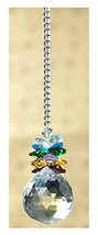 H&D HYALINE & DORA Crystal Sucatcher with Chandelier Crystal Prism Ball Rainbow