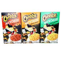 NEW CHEETOS MAC'N CHEESE 3 FLAVORS BOLD CHEESY JALAPEÑO FLAMIN HOT Lot of 3 - $18.67