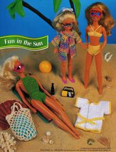 "5X Barbie 11-1/2"" Doll Beach Aerobics Exercise Time Andy The Dog Crochet Pattern image 6"