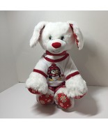 """White Dog Plush Stuffed Animal Build a Bear Peppermint with Outfit 13"""" - $19.34"""