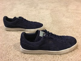 Men's Puma Casual Shoe, Dark Blue Suede, Size 11.5 - £36.08 GBP