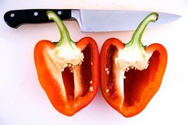 SHIPPED FROM US 50 True Heart Perfection Pepper Red Vegetable Seeds, LC03 - $15.00