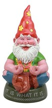 Ebros Highly Content Meditating Hippie Gnome Statue As Collectible of Hi... - $44.96
