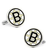 Boston Bruins Silver Plated Cuff Links - $44.10