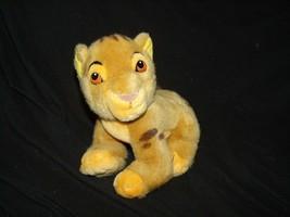 "Disney Store The Lion King Simba Cub Baby Plush 8"" Vintage - $19.59"
