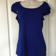 Juniors Blue Top Size M From forever 21 Nwt - $10.00