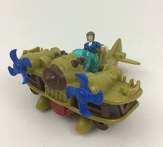 Imaginext Biplane Bomber and Pilot Figure Toy 2pc Fisher Price 2016 - $16.78