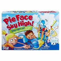 Pie Face Sky High Board Game Over 3 Feet Tall Carnival Strength Tester Game - $22.07