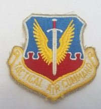 "US Air Force Tactical Air Command Patch Vintage USAF Embroidered 3"" - $6.81"