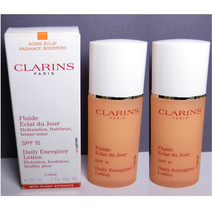 2 pc Lot CLARINS Daily Energizer Lotion Healthy Glow 2.0 oz NIB  - $40.78