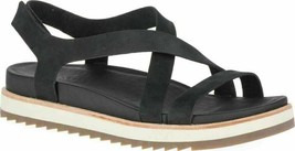 Merrell Womens Juno Backstrap Sandal Black Nubuck - NEW in box Size 8 US... - $60.73