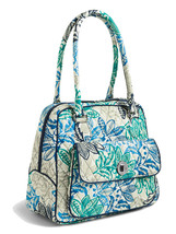 Vera Bradley Signature Cotton Turnlock Satchel Bag, Santiago - $79.90