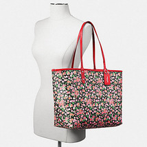 F57669 reversible city tote in posey cluster floral print coated canvas  coach f57669 3 thumb200