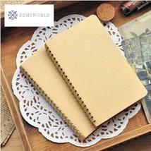 Brief Drawing Sketchbook Book Spiral Blank Paper Notebook Sketch Notpad ... - $9.83