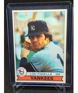 1979 Topps New York Yankees #18 Lou Piniella VG-EX *FBGCOLLECTIBLES* - $6.80