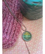 Ocean Love Quote Bottle Cap Necklace - $4.00