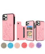 Apple iPhone 11 /Pro /Max Leather Case Cover Flowers Wallet Card Stand H... - $10.97
