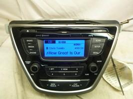 11 12 13 Hyundai Elantra OEM Radio Cd MP3 XM Bluetooth 96170-3X165RA5 SGL08 - $29.70