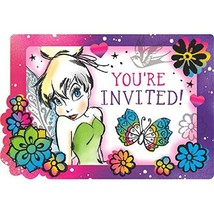 Tinkerbell Keep Flying Save The Date Invitations Tinker Bell Birthday Pa... - $3.22