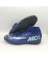 Nike Mercurial Superfly 7 Academy MDS TF INDOOR Soccer Cleats BQ5435-401... - $59.40