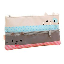 Funnylive Creative Learning Products,Cute Cat Pencil Case Stationery Pou... - $10.12