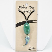A.T. Storrs Chrysocolla Empowerment Expression Teaching Pendant Necklace
