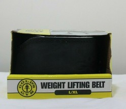New In Box  gold's gym weight lifting belt 34-42 Length L/XL Exercise Eq... - $15.48