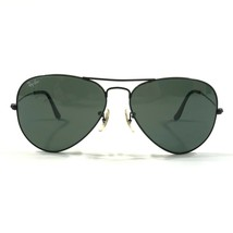 Vintage Bausch & Lomb Ray-Ban L2823 WXAS Sunglasses Classic Aviator Black Wire - $149.59