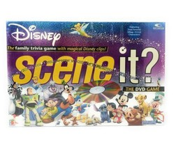Disney Scene It? DVD Game Mattel 2004 - Free Shipping! - $32.68
