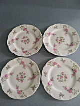 "4 Beautiful Theodore Haviland New York ""Delaware""Bread Plates Vintage - $16.95"