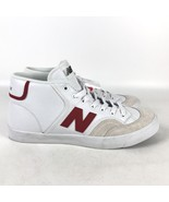 New Balance Numeric 213 Mid Skate Shoes Men's Size 11 White Red Beige NM... - $68.31