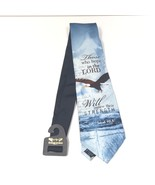 NEW Eagles Wings Isaiah 40:31 CHRISTIAN RELIGIOUS church 100% SILK neck ... - $34.64