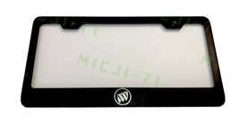 Laser Engraved Etched Buick Stainless Steel License Plate Frame - $19.99