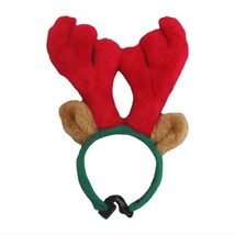 NEW Size Small Outward Hound Red Antlers Brown Ears Dog Holiday Pet Costume - €6,57 EUR