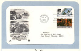 World War II, Battle of the Bulge, Vintage Stamps, 1st Day of Issue, 29 ... - $2.99