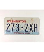 WASHINGTON *EVERGREEN STATE * LICENSE PLATE # 273-ZXH  - $5.00