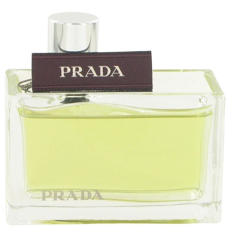 Prada amber 2.7 oz perfume tester