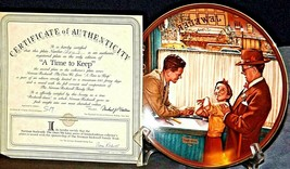 """1989 The Ones We Love """"A Time to Keep"""" by Norman Rockwell AA20-CP2297 Vintage"""