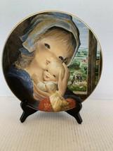 """Juan Ferrandiz Plate Schmid Collection """"Orchard Mother and Child"""" #5886 LE - $10.00"""