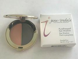 Jane Iredale PurePressed Pressed Eye Color Eyeshadow Duo Hush/Smoky Grey - $20.00