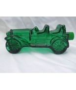 Vintage Men's Cologne Avon Green Car Glass Bottle Wild Country Aftershav... - $7.87